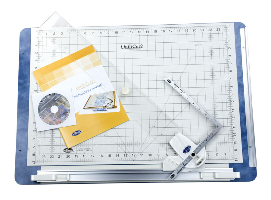 The QuiltCut2 Fabric Cutting System